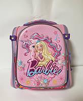 Школьный каркасный ортопедический рюкзак для девочки Barbi
