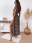 Женское платье, супер - софт, р-р С-М; Л-ХЛ (леопардовый), фото 2