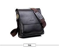 Мужская сумка Polo VIDENG  коричневая, фото 1