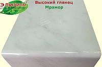 100 мм - Мрамор подоконник пластиковый Глянец Elyzium Plast (Элизиум Пласт)
