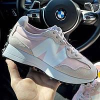 Женские кроссовки New Balance 327 Pink | Нью Беланс 327 Розовые