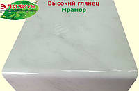 600 мм - Мрамор подоконник пластиковый Глянец Elyzium Plast (Элизиум Пласт)