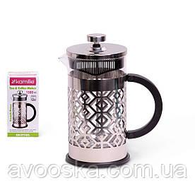 Заварник френчпресс для чая и кофе 1л Kamille KM-0774XL