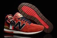 Женские кроссовки New Balance 996 (Нью Бэлэнс) красные