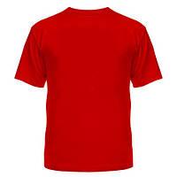 Футболка American Style, цвет кораллово-красный
