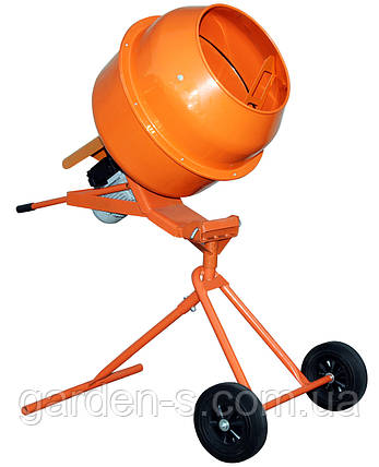 Бетономешалка Кентавр БМ-140ПВ (оранжевая), фото 2