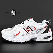 Женские кроссовки в стиле New Balance 530 | White Red