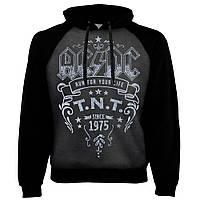 Толстовка реглан AC/DC TNT темно-сіра