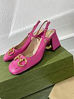 Крутые женские туфельки Гуччи (реплика), фото 1