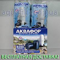 Комплект картриджей АКВАФОР Модерн В200 без умягчения 4000 л, фото 1