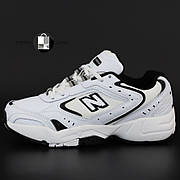 Женские кроссовки в стиле New Balance 530 | White Black