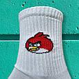 Носки angry birds белый размер 36-44, фото 4