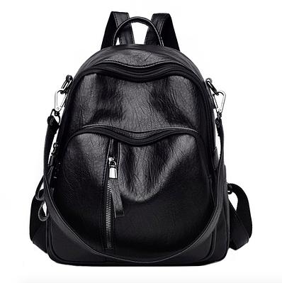 Рюкзак жіночий трансформер шкіряний міський Yilanduo