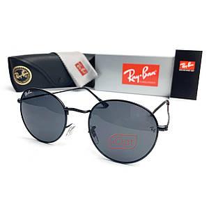 Солнцезащитные Очки R-B Round Metal 3448 C1 Черные