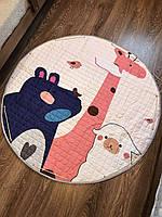 Дитячий килимок-мішок (Dizzy) круглий  150 см. (ХБ тканину) (150-440-Q1)