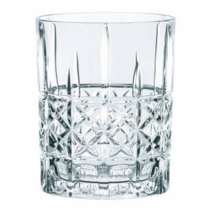 Стакан для виски 345 мл. низкий, стеклянный Highland Diamond, Nachtmann