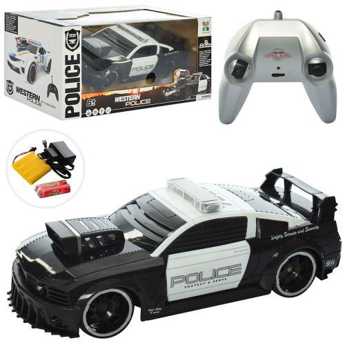 Машина 75599P радіокер. 2,4G, акум., поліція, гум.колеса, муз., світло, кор., 38-17,5-19 см.