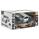 Машина 75599P радіокер. 2,4G, акум., поліція, гум.колеса, муз., світло, кор., 38-17,5-19 см., фото 4