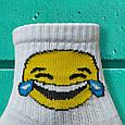 Шкарпетки смайли зі сльозами розмір 36-42, фото 4