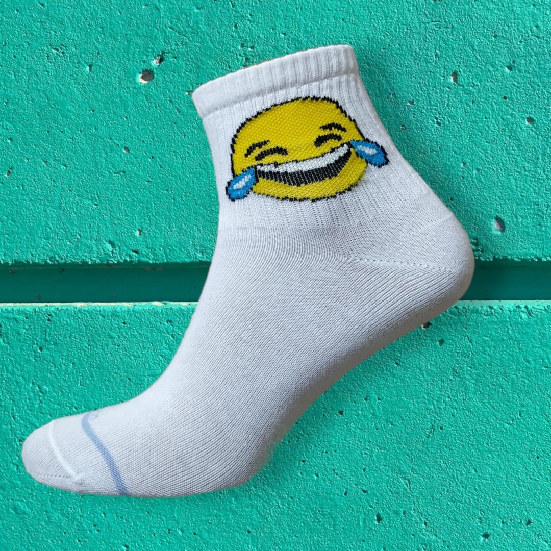 Шкарпетки смайли зі сльозами розмір 36-42