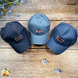 Дитяча джинсова кепка для хлопчика і дівчинки Розмір: 54 см (01884)