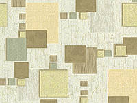 Обои бумажные Геометрия 7204-04 оливковый, фото 1