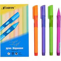 От 24 шт. Ручка масляная CF-1361 тренажер правша синяя купить оптом в интернет магазине От 24 шт.