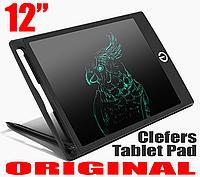 Графический планшет детский для рисования Tablet Pad Clefers 12 дюймов
