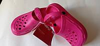 Детские кроксы CROCS  30\31 розовые, фото 1