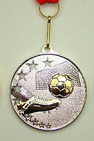 Медаль MD 57 silver с лентой