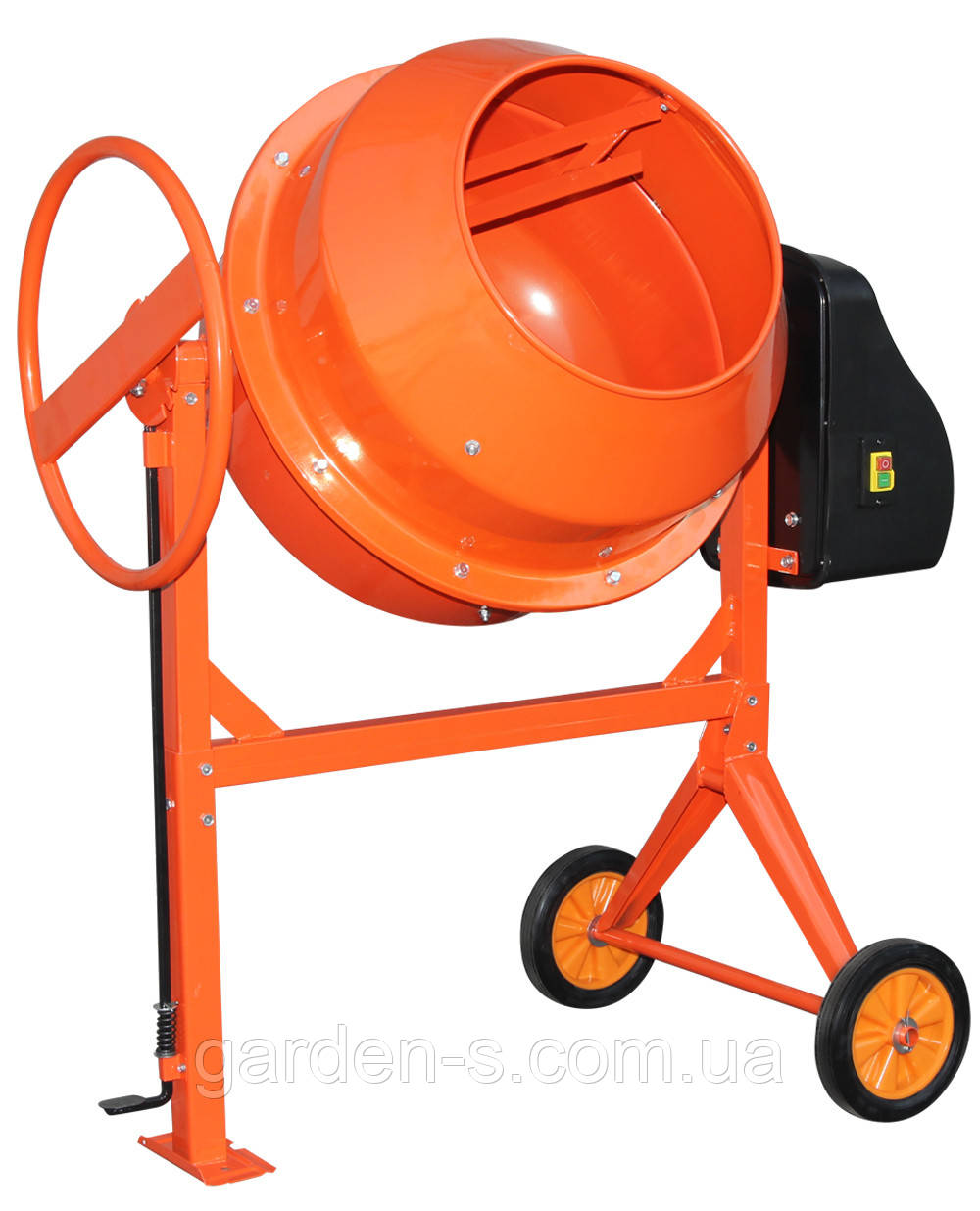 Бетономешалка Кентавр БМ-180М (оранжевая)