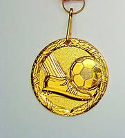 Медаль MD 61 gold с лентой