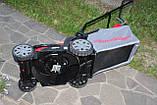 Аккумуляторная газонокосилка Powerworks P48LM35K6 48 В (Greenworks 48/24 V)c АКБ 6/12 Ач и ЗУ, фото 6
