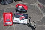 Акумуляторна газонокосарка Powerworks P48LM35K6 48 В (Greenworks 48/24 V)c АКБ 6/12 Ач і ЗУ, фото 7