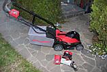 Аккумуляторная газонокосилка Powerworks P48LM35K6 48 В (Greenworks 48/24 V)c АКБ 6/12 Ач и ЗУ, фото 5