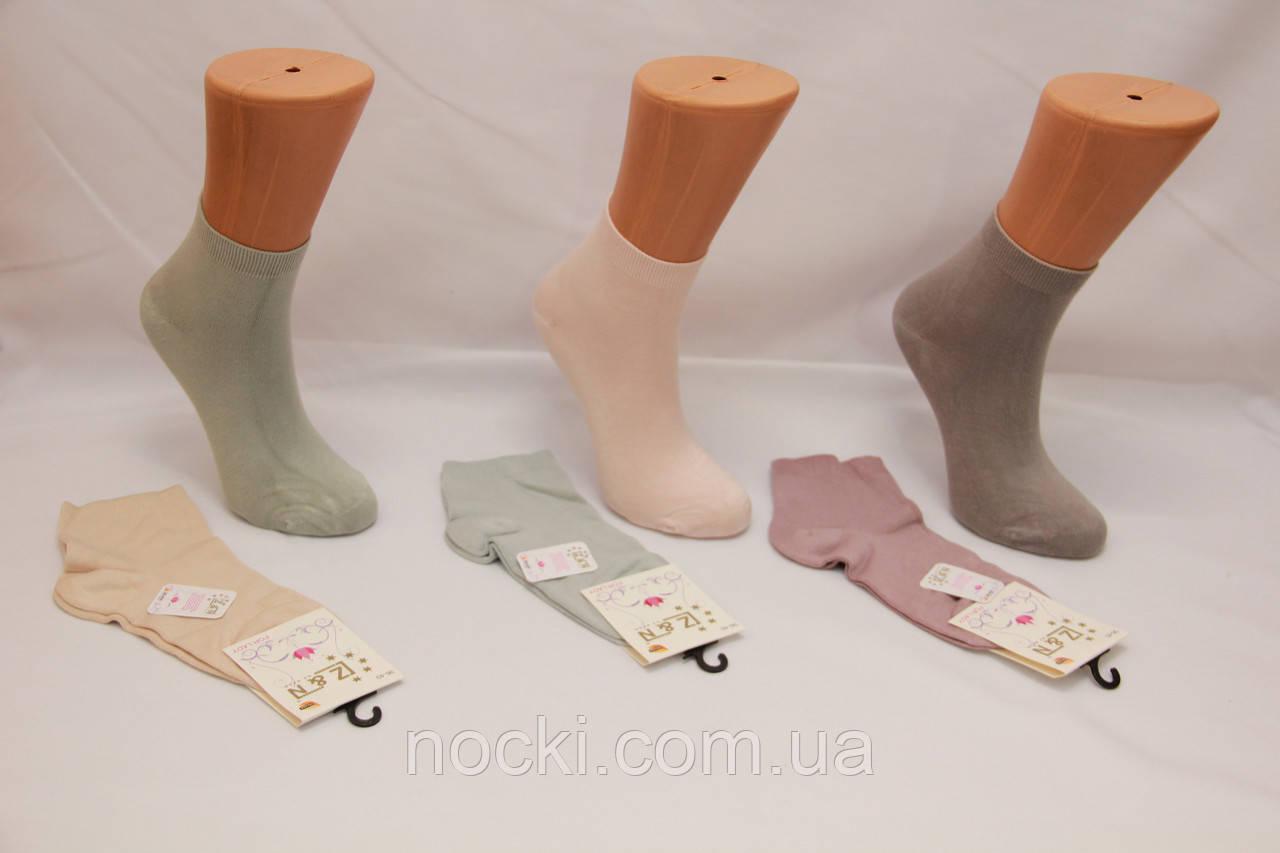 Женские носки средние с модала НЕЖО 36-40 ассорти