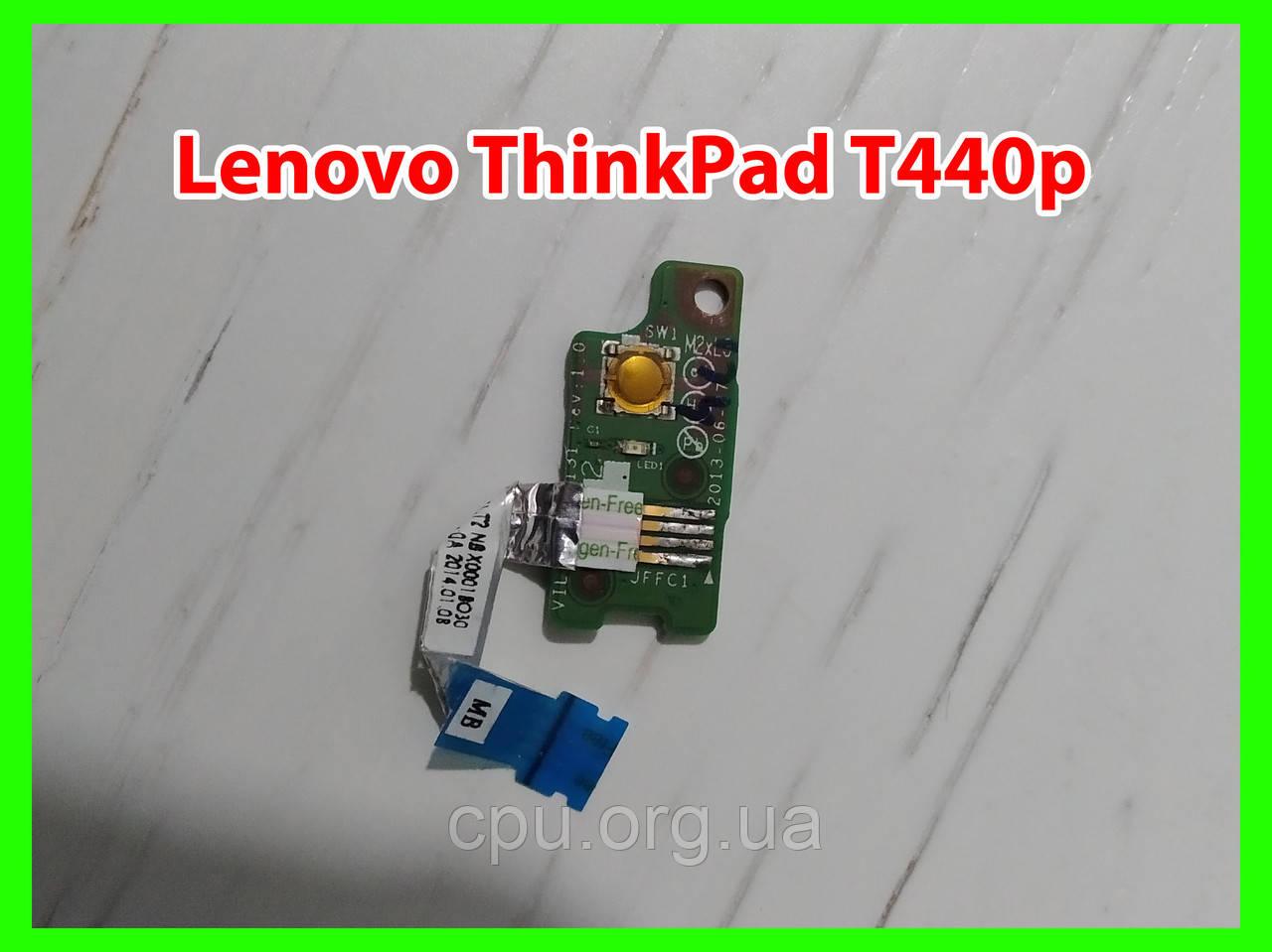Кнопка включения power button Lenovo ThinkPad T440p