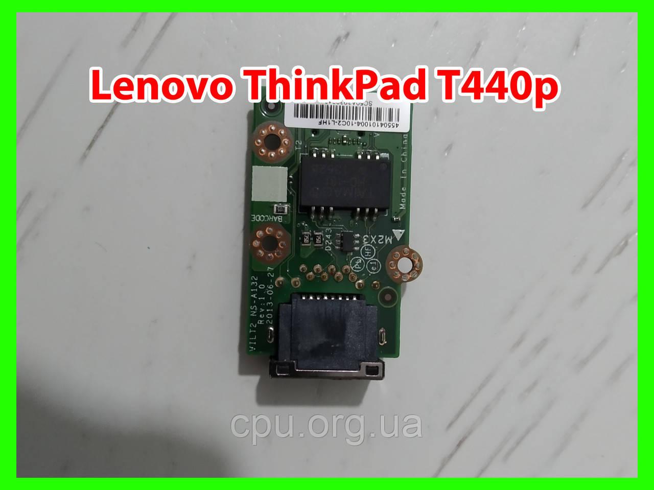 Плата сети lan port Lenovo ThinkPad T440p