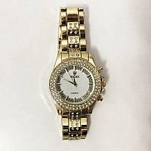 Годинники наручні жіночі Rolex Women Luxury. Колір: золотий