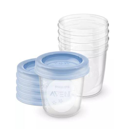 Набор контейнеров для хранения грудного молока Avent SCF619/05