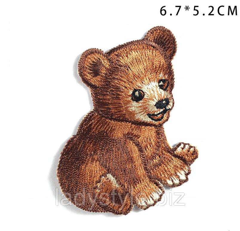 """Красивая  нашивка """"Медвежонок""""  от студии LadyStyle.Biz"""