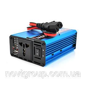 Инвертор напряжения Voltronic, 600W, 48/220V, approximated, 1 универсальная розетка, клемы + USB