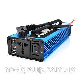 Инвертор напряжения Voltronic, 2000W, 60/220V, approximated, 1 универсальная розетка, клемы + USB