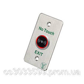 Кнопка виходу ISK-841B безконтактна для системи контролю доступу врізна