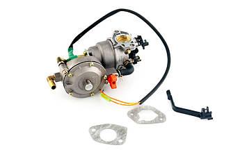 Карбюратор на Мотоблок 177F/188F (9/13 Hp Лошадиных Сил) (с газовым редуктором и электромагнитным клапаном)