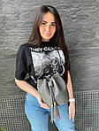 Жіноча сумка, екошкіра PU (сірий), фото 3