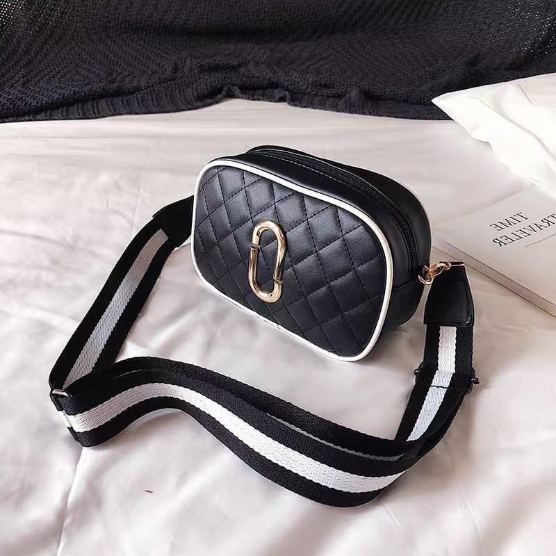 Жіноча сумка, екошкіра PU (чорний)