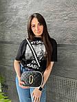 Жіноча сумка, екошкіра PU (чорний), фото 2