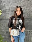 Жіноча сумка, екошкіра PU (білий), фото 2