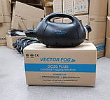Генератор холодного тумана VectorFog DС20 Plus. Генератор DС20+ на Аккумуляторе. Батарее, фото 6